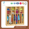 Childrens Wooden Clothing Lockers with 16 Cubbies