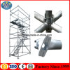 Steel Cuplock Scaffolding System for Concrete Supporting Masonry Construction