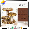 Cat Furniture Leopard Cat Tree with 3 Towers (YUY-CWMS-11171)