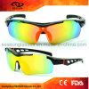 Wholesale Promotional One Piece Lens UV400 Bike Sunglasses PC Shatterproof Riding Driving Sun Glasses