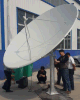 4 6 8 10 12 20feet 1.5 1.8 2.4 3 3.7 4 5m C Band Satellite TV Digital HD Parabolic Paraboloid Outdoor Dish Antenna