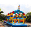 Colorful Clown Inflatable Bouncer City/Inflatable Playground