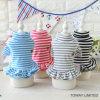 Fashion Stripes Pet Dress Cute Soft Dog Skirts