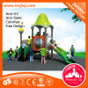 GS/Ce Approved Children Big Plastic Slides Outdoor Playground