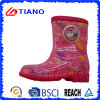 Colorful Comfortable PVC Rain Boots for Children (TNK70004)