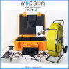 Self Level Video Endoscope Sewer Pipe Inspection Camera with 30 PCS Lights