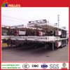 3 Axles Semi Trailer Flatbed Container Cimc Trailer for Sale