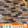 Balcony Wall Marfil Marble and Convex Glass Mosaic (M858016)