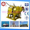 5ton Air Winch for Mining and Oilfield and Marine with Hand Brake and Auto Band Brake