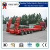 120t Multi-Axle Heavy Equipment Low Bed Semi Trailer