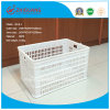 100% New Material Mesh Plastic Basket/Plastic Turnover Box/