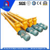 ISO Approved Ls400 Carbon Steel Pipe Type/ Spiral Screw Conveyor for Coal/Ash/Slag Materials