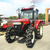 Brand New Wheel Farm Tractor with 100HP Engine