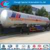 ISO 3 Axle LPG Truck Trailer 58.5cbm LPG Gas Cylinder BPW Axle Used LPG Semi Trailer