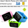 2017 Hot Selling Smart Watch Phone with Bluetooth G11