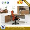 Beech Color L Shape MFC Modern Executive Office Desk (HX-6M019)