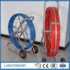 Duct Laying Fiberglass Cable Rodder Fiber Snake 12mm*300m