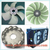Low Speed and Quiet Cooling Fan for Compressor