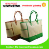 New Fashion Custom Hand Work Women Shopping Beach Tote Handbag in Straw