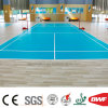 Popular Indoor Vinyl Sports Flooring for Basketball Court Wood Pattern 6.5mm