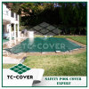 Green Winter Safety Cover for Swimming Pool