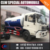 China Good Sales 8m3 10m3 Sewage Vehicle Vacuum Tank