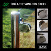 Stainless Steel Glass Clamp for Railing, Railing Parts