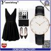 Yxl-232 Fashion Custom Ladies Watch Diamond Charming Dress Watch Wrist Sport Casual Leather Quartz Watches Men