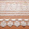 L20013 100% Milk Lace Fabric Fantastic New Lace Designs New Arrival Thick French Chemical Lace