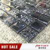 Classical Style Black Mosaic Tile Supplies, Glass Mosaic for Shop