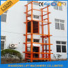 Hydraulic Guide Rail Goods Lift Industrial Platform Lift