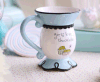 Cheap Glazed Ceramic Unique Tea Cup Coffee Mug for Gift