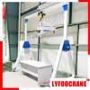 Aluminum Manual Portal Crane Workflow Possible Crane, Light Duty Crane