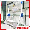 Aluminum Manual Portal Crane Workflow Possible Crane, Light Duty Crane