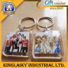 Customized Hot Selling Square Shape Keyring for Gift (KRR-005)