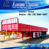 Tri-Axle 60tons Side Board Semitrailer, Side Boards Flatbed Semi Trailer, Flatbed with Side Wall, Open Side Board Cargo Semi Trailer, Sidewall Semi Trailer