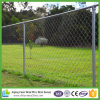 Galvanized Chain Link Fence with Top Rail