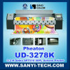 PVC Flex Printing Machine Ud-3278k, 3.2m, with Spt510/50pl Printheads