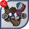 Cute Apple, Pine, Banana Sequins Patch/Applique for Children Clothing