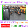 Cheap Indoor Waterproof Rubber Flooring for Fitness Rubber