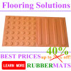 Blind Rubber Tactile Rubber Mat Flooring Tiles