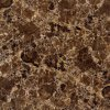 Dark Colour Stone Brown 6b003 Full Polished Porcelain Tile