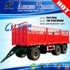 40FT Tow Dolly Trailer Cargo Truck Trailer/Flatbed Drawbar Full Trailer