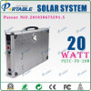 20W Portable Solar Home/ Power System for Lighting / Fan / TV (PETC-FD-20W)