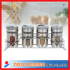 4pc Stainless Steel Spice Jar -- ZIBO MODERN