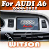 Witson Car DVD for Audi A6 (2008-2011) /Q7 (2005-2009) (W2-D9766A)
