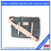 Durable Water-Resistant Waxed Canvas Messenger Bag