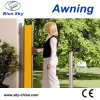 Garden Sunshade Aluminum Retractable Side Screen Awning (B700-1)