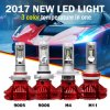 12V H4 H7 H11 X3 Car Fanless LED Headlight