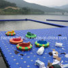 HDPE Floating Swimming Pool for Water Sport and Leisure